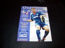 Oldham Athletic v Bournemouth, 1999/2000